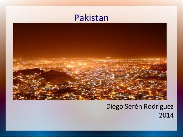 Pakistan  Diego Serén Rodríguez 2014