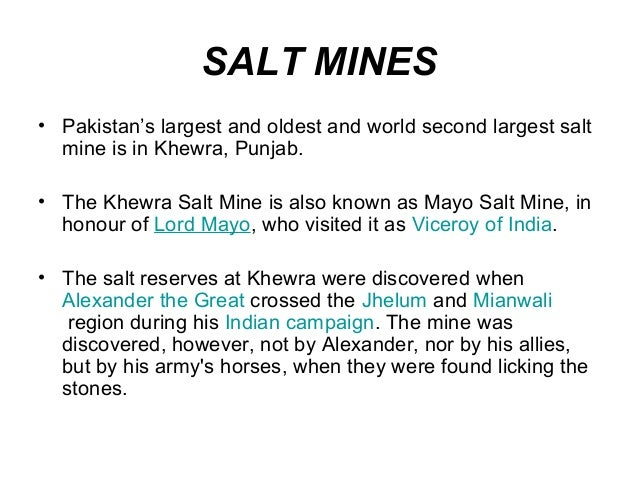 Essay Natural Resources Of Pakistan