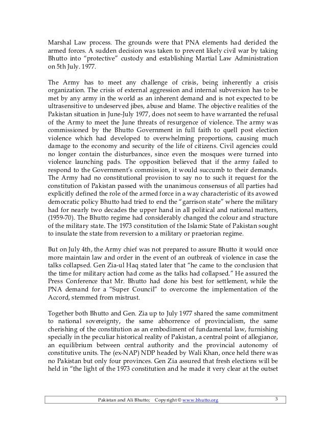 essay on political situation in pakistan
