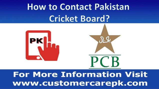 Pakistan Cricket Board Phone Number Office Address Email
