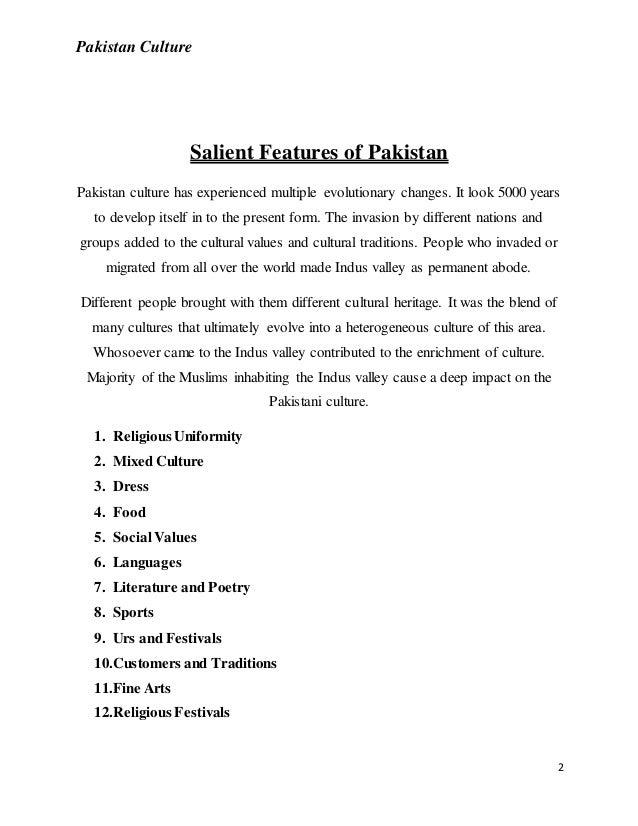 Pakistan culture Slide 2