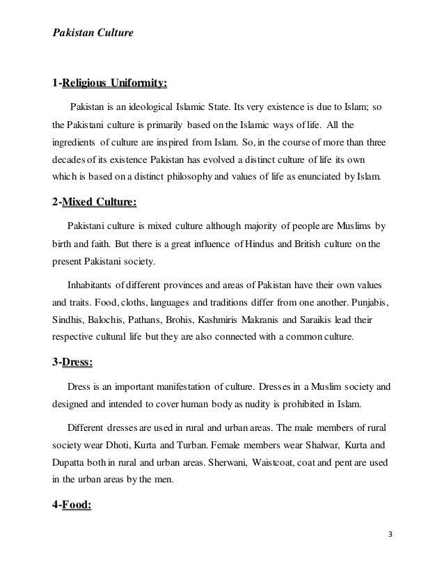 Pakistan culture Slide 3