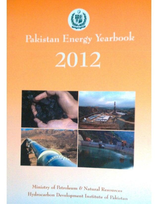 Pakistan Energy Yearbook 2012