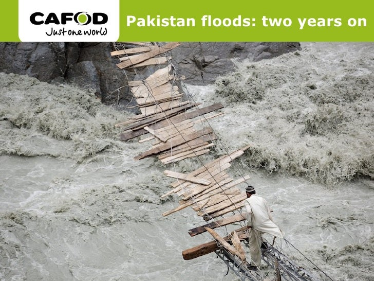 Pakistan floods: two years on