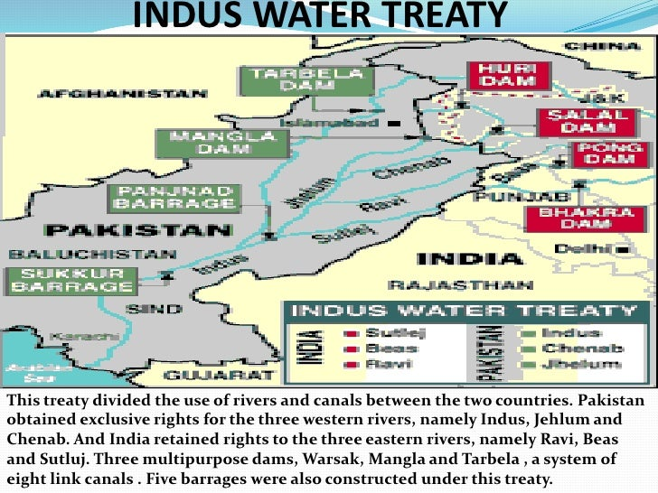 Pakistan Hydro Politics