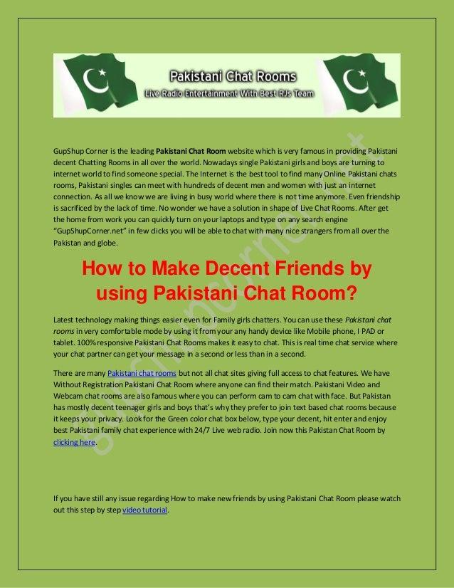 Decent chat rooms
