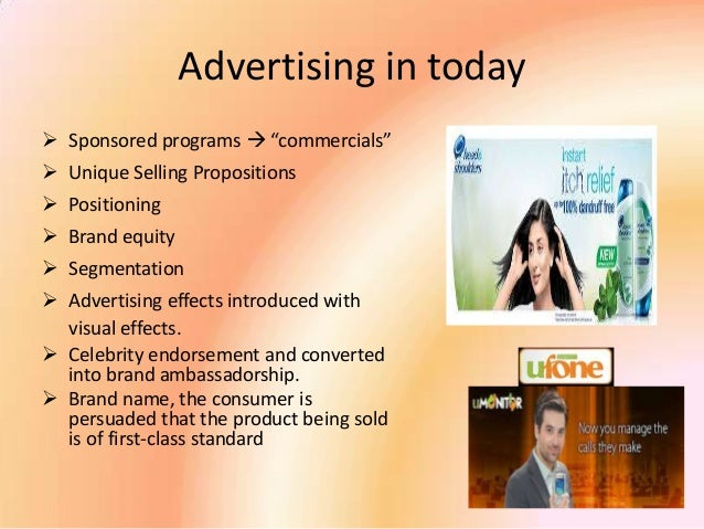 "Executive summary of ""Celebrity endorsements and branding ..."