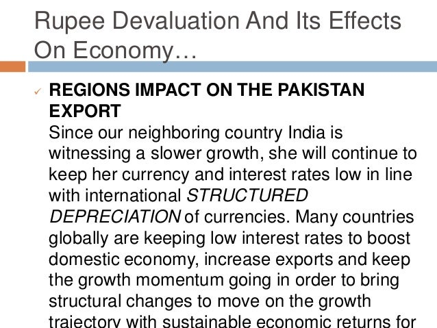 "impacts of devaluation on export performance essay He took sample of 18 ldc""s with different export performance potential impacts of the devaluation of nepalese a critical review essay stagflation."