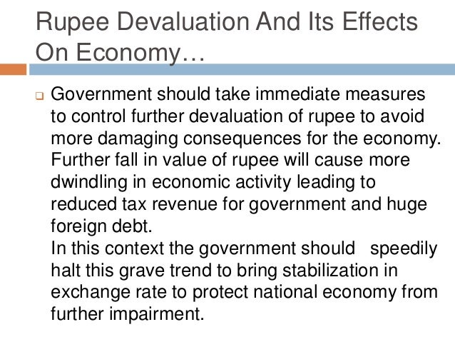 Is the fall in value of rupee a good thing for the Indian economy?