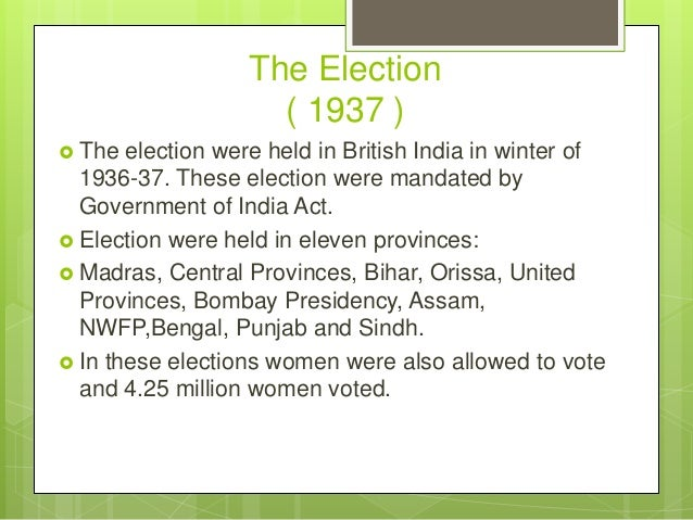 1937 elections