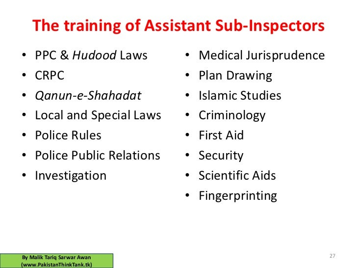 PAKISTAN POLICE IS INFACT GREAT (must read)