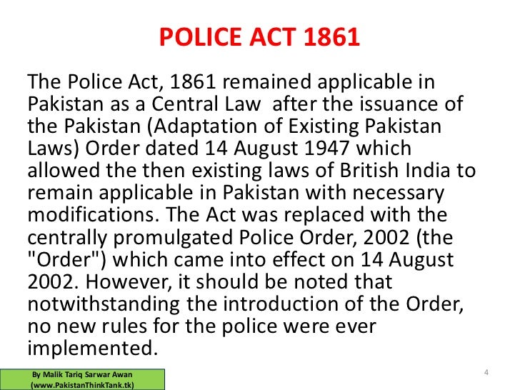 PAKISTAN POLICE IS INFACT GREAT (must read)