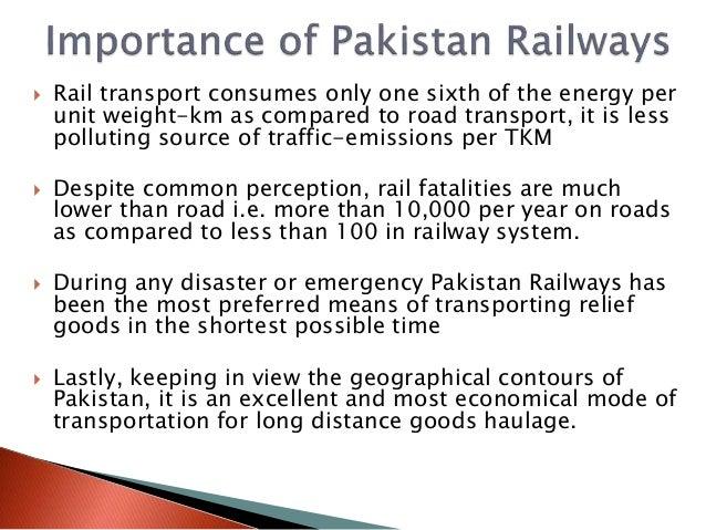 Pakistan Railways: Challenges and Response