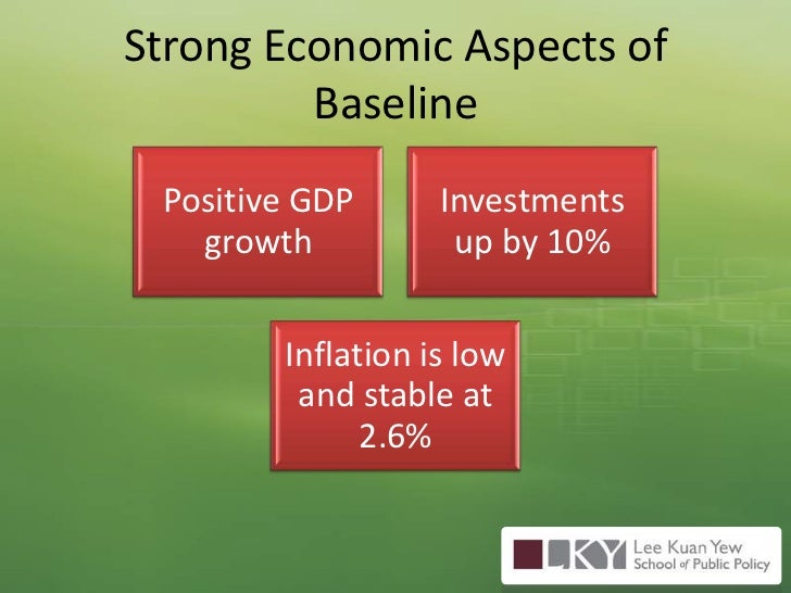 Strong Economic Aspects of Baseline<br />