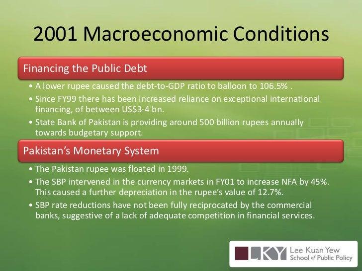 2001 Macroeconomic Conditions<br />