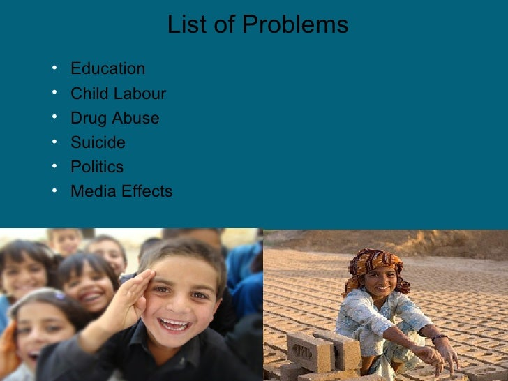 drug addiction in pakistan essay Problem solution: drugs drug abuse = drug addiction drugs: heroin this essay looks at some of the problems caused by drug use on society.
