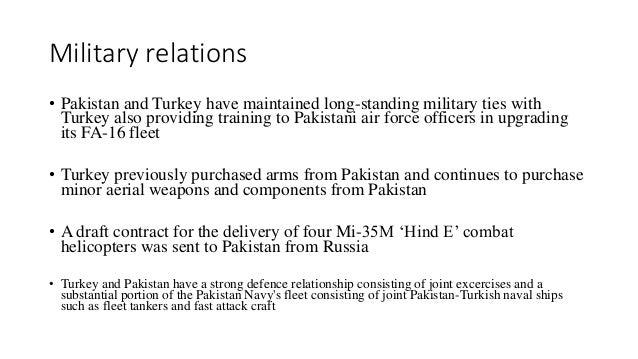 Turkey Pakistan Defence