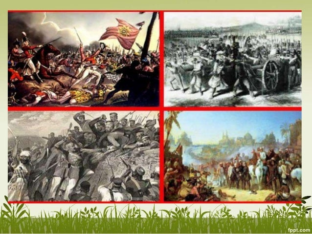 What was the conclusion of the war of Independence in 1857?