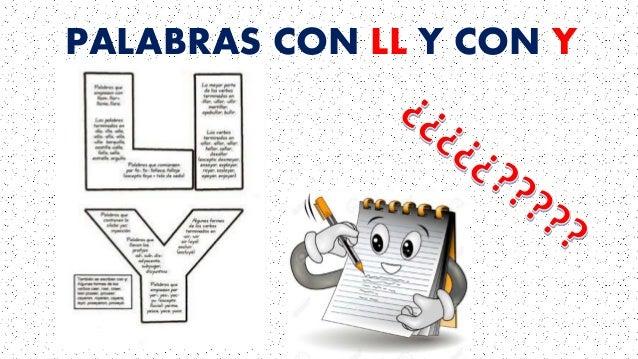 Resultado de imagen de PALABRAS CON LL Y