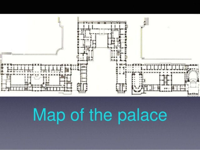 Map of the palace