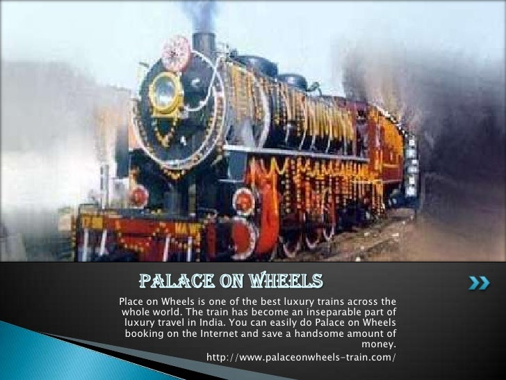 Palace on wheels price ppt