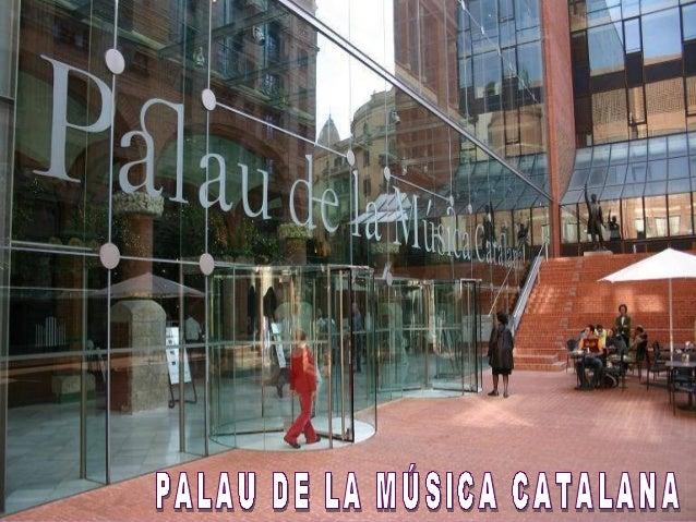 Palacio da musica barcelona Slide 2