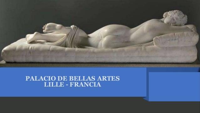 PALACIO DE BELLAS ARTES LILLE - FRANCIA