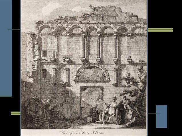 Portada peristilo                 Templo dePanteón              y vestíbulo                      Júpiter          Sección ...
