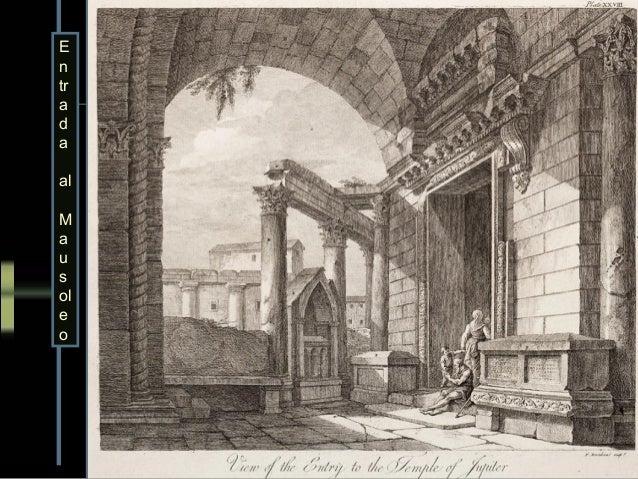 Templo de JúpiterAdams creyó erróneamenteque era el templo de Asclepio.             Planta