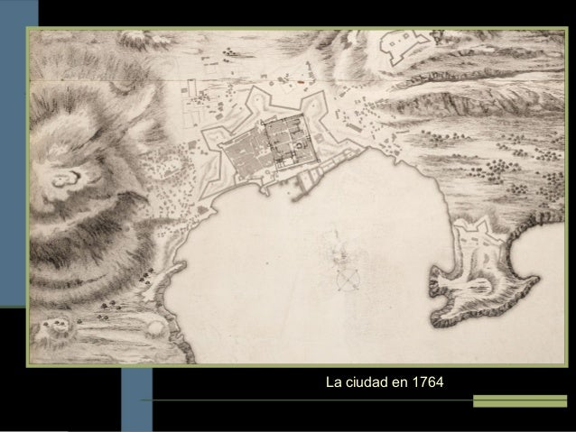 La ciudad en 1764