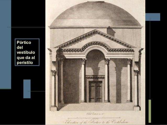 El orden corintio en el palacio