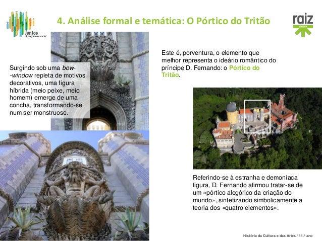 História da Cultura e das Artes / 11.º ano Referindo-se à estranha e demoníaca figura, D. Fernando afirmou tratar-se de um...