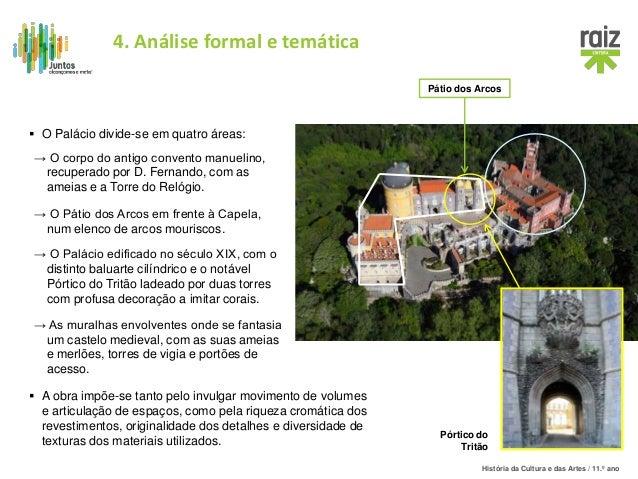 História da Cultura e das Artes / 11.º ano  A obra impõe-se tanto pelo invulgar movimento de volumes e articulação de esp...