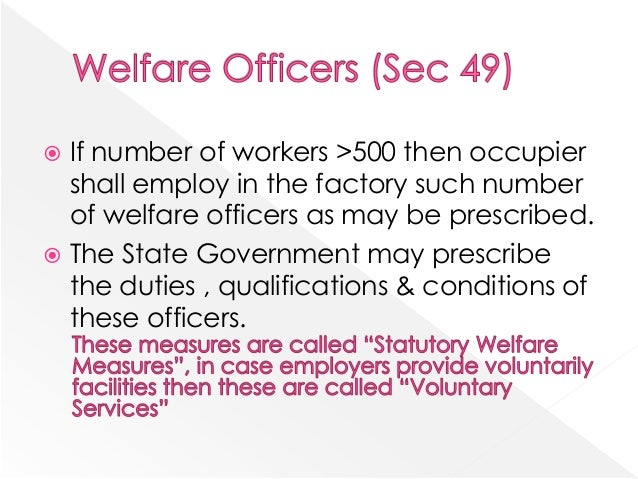 Review of literature on employee safety and welfare measures pdf