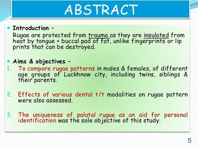 Morphology of palatal rugae patterns among 5-15 years old ...
