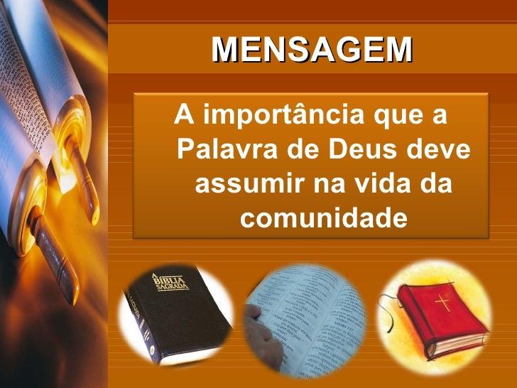 Importância da palavra de Deus Bíblias
