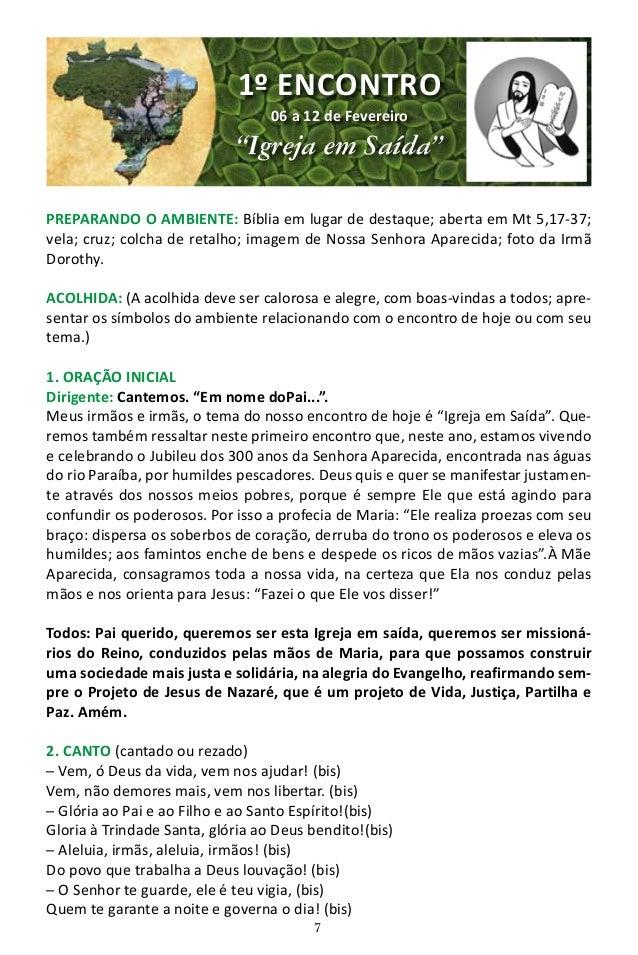 """8 3. OLHANDO A REALIDADE: Uma Vida pelos Pobres. Dirigente: O ano de 2017 foi proclamado pela CNBB o """"Ano Nacional Mariano..."""