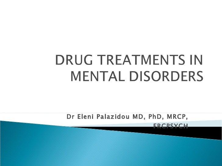 Dr Eleni Palazidou MD, PhD, MRCP, FRCPSYCH