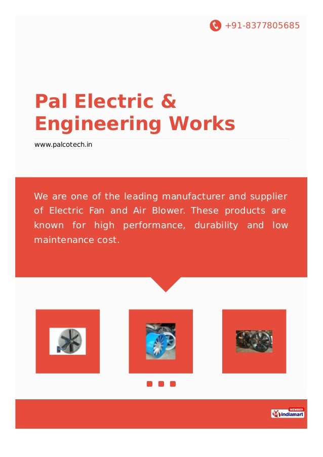 +91-8377805685 Pal Electric & Engineering Works www.palcotech.in We are one of the leading manufacturer and supplier of El...