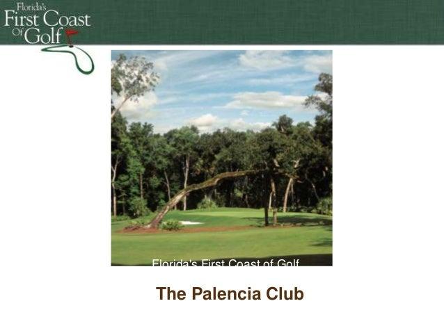 Florida's First First Coast ofof Golf Florida's Coast Golf Florida's First Coast Florida's FirstCoast of Golf of Golf The ...