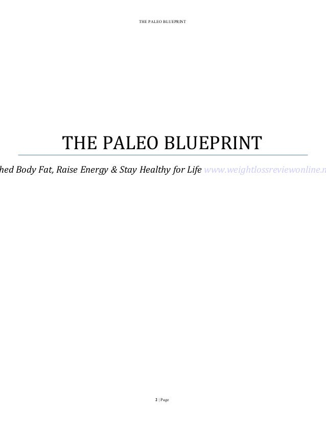 The paleo diet blueprint shred fat lose weight and increase health weightlossreviewonline 2 the paleo blueprint malvernweather Gallery
