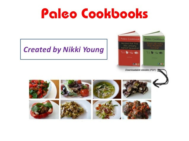 Paleo Cookbooks Created by Nikki Young