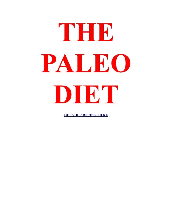 THEPALEO DIET GET YOUR RECIPES HERE