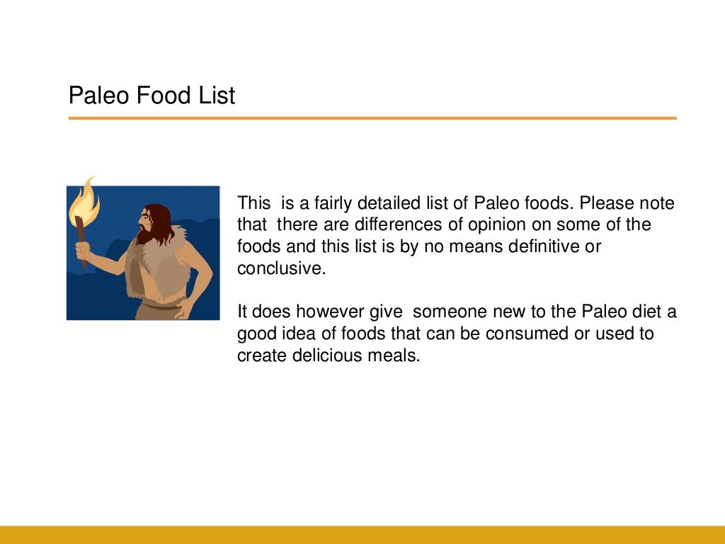 Paleo Food List- What to Eat on the Paleo Diet