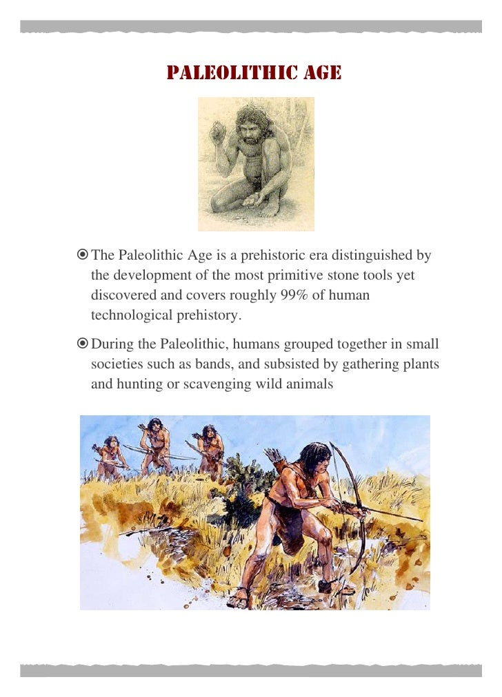 Essay on neolithic age