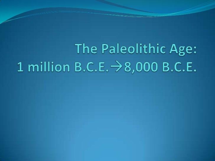 paleolithic vs neolithic cc Learning objectives create a timeline of the paleolithic, mesolithic, and neolithic periods of the stone age, giving a brief description of the art from each period.