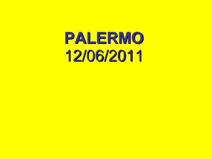 PALERMO   12/06/2011