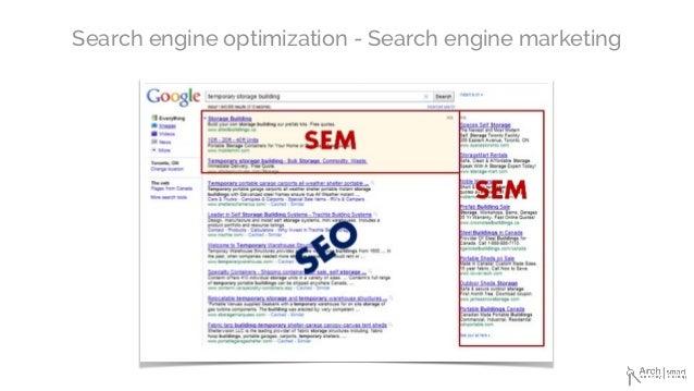Search engine optimization - Search engine marketing