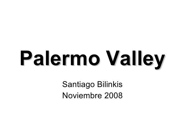 Palermo Valley Santiago Bilinkis Noviembre 2008