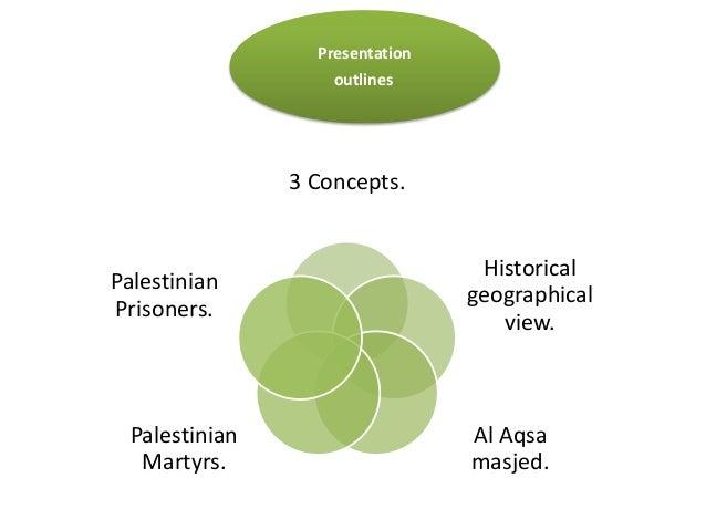 Presentation                    outlines                3 Concepts.                                  HistoricalPalestinian...